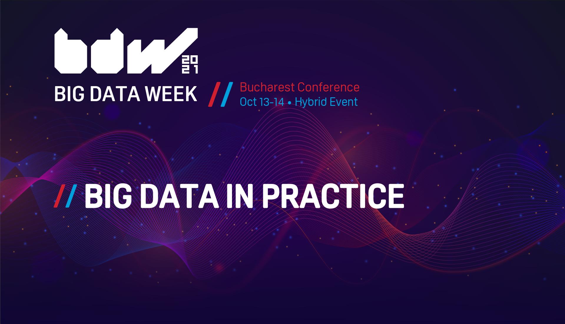 Big Data Week revine la București între 13-14 octombrie