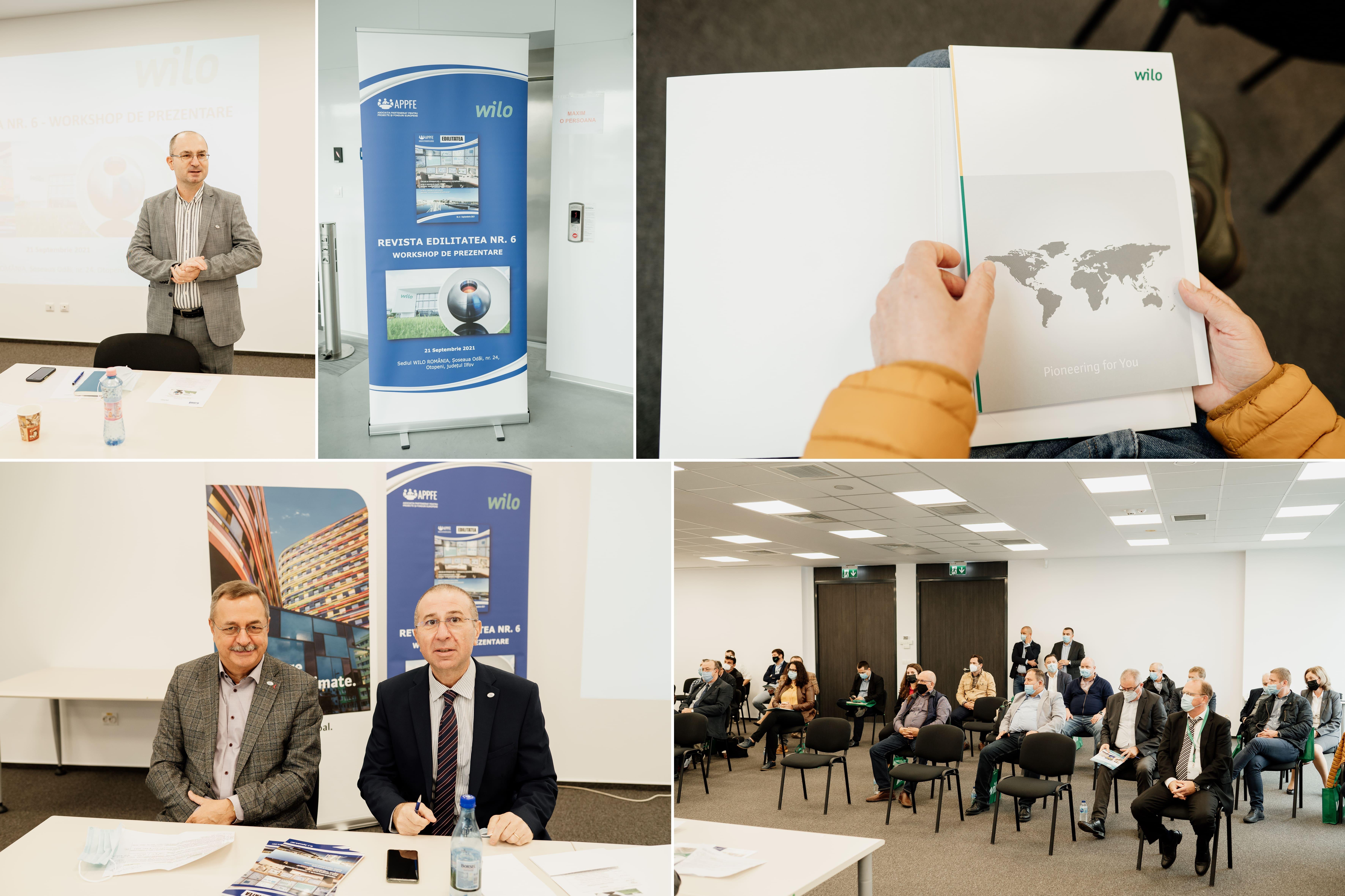 Sistemele de alimentare cu apă și canalizare, o prioritate pe agenda de lucru a Wilo România