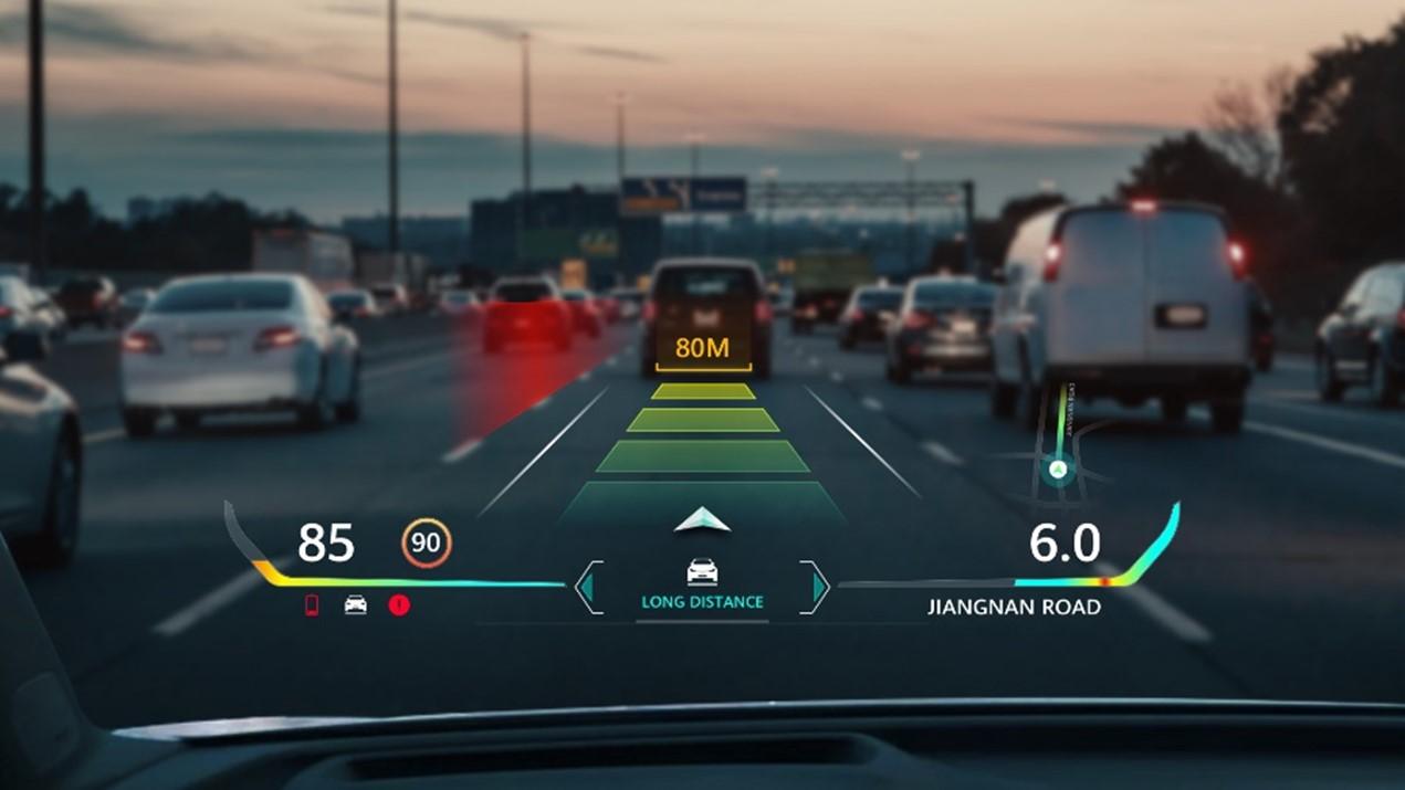 Huawei AR-HUD permite condusul asistat mai sigur din punctul de vedere al șoferului
