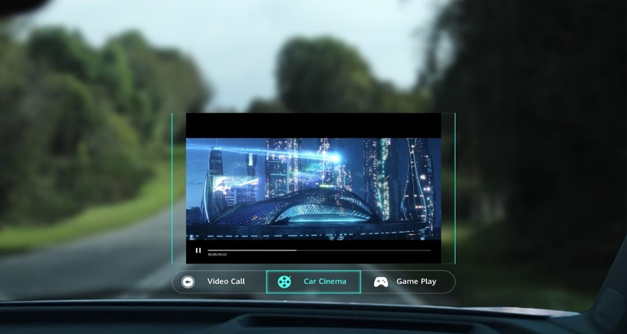 Huawei AR-HUD aduce o experiență de divertisment superioară