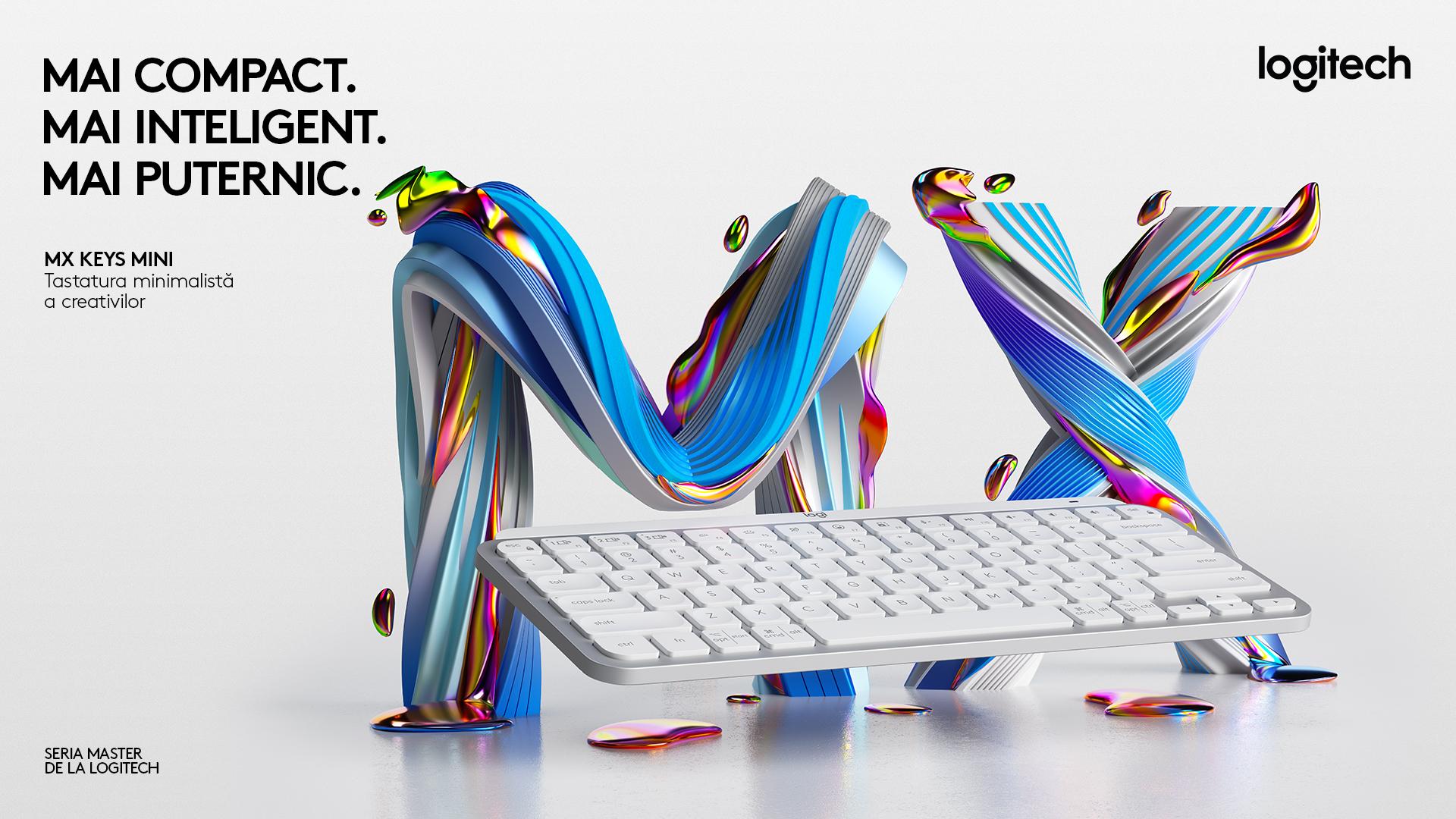 MX Keys Mini, noua tastatură wireless cu design minimalist de la Logitech