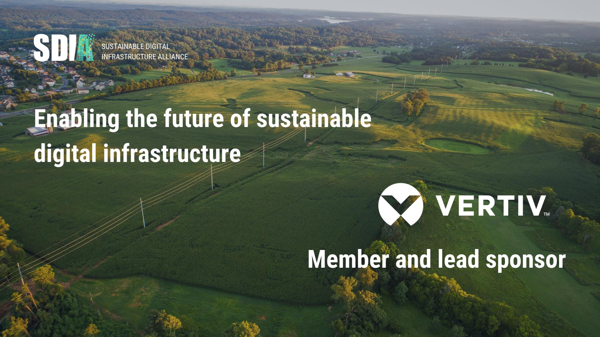 Vertiv se alătură Alianței pentru Infractructura Digitală Sustenabilă cu scopul de a contribui la stimularea unei economii digitale neutre din punct de vedere climatic