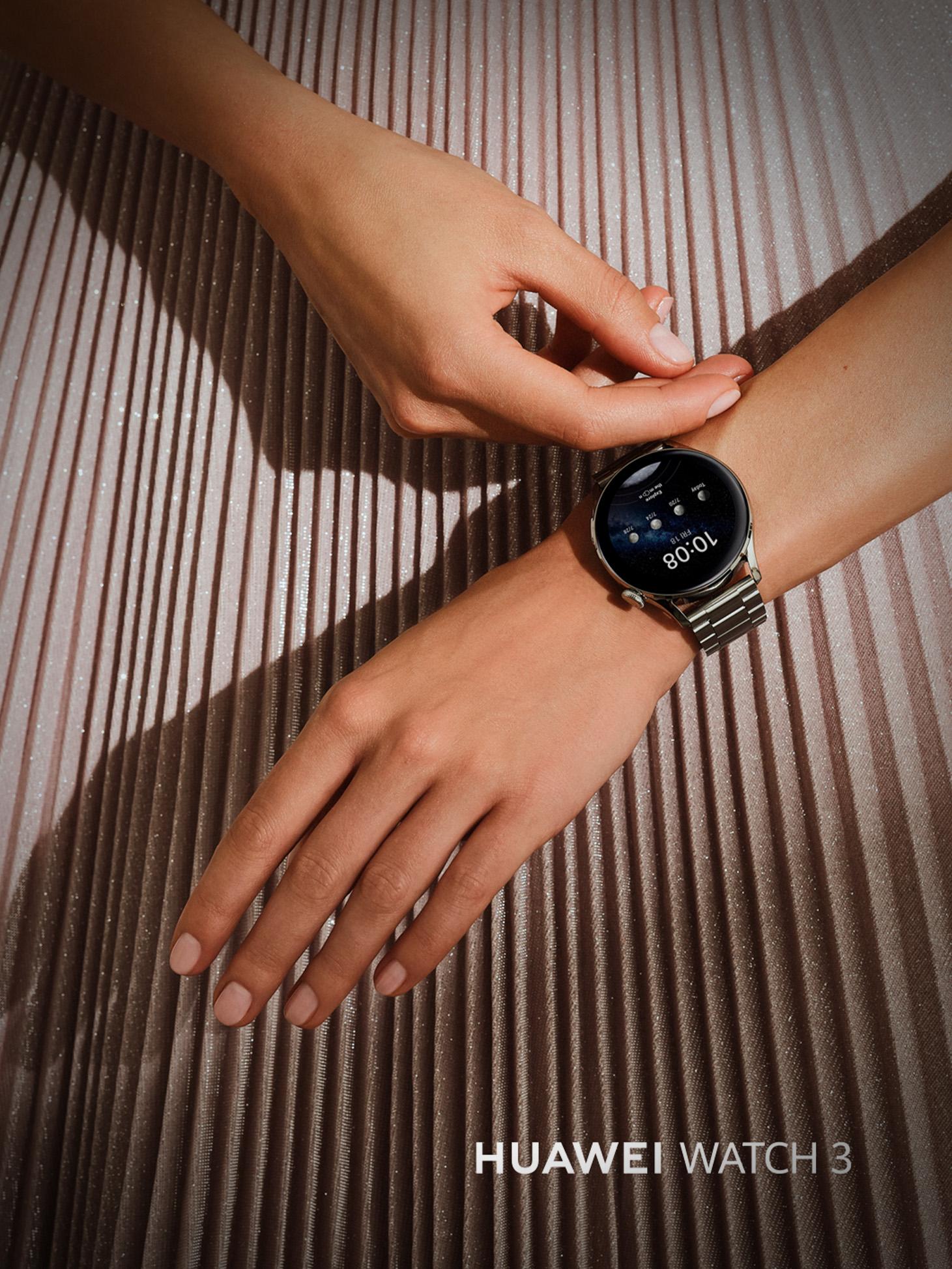 WATCH 3 Elite, noul ceas din familia HUAWEI WATCH 3, este disponibil pe Huaweistore.ro