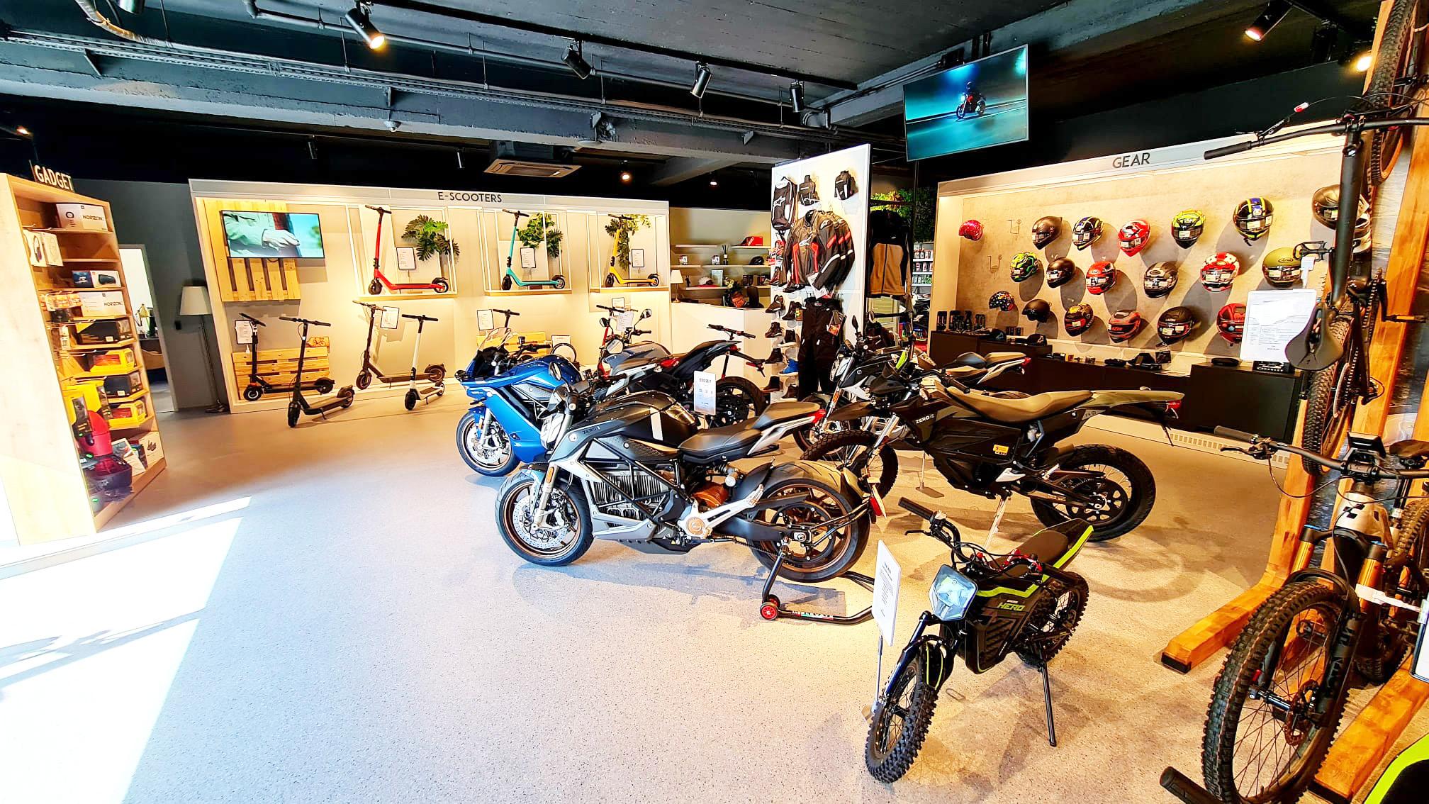 Zeno Electric distribuie oficial motocicletele electrice Zero