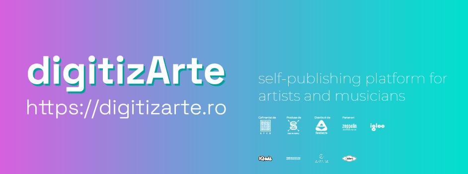 Platforma de auto-publicare digitizArte.ro susține tinerii artiști printr-un program educațional