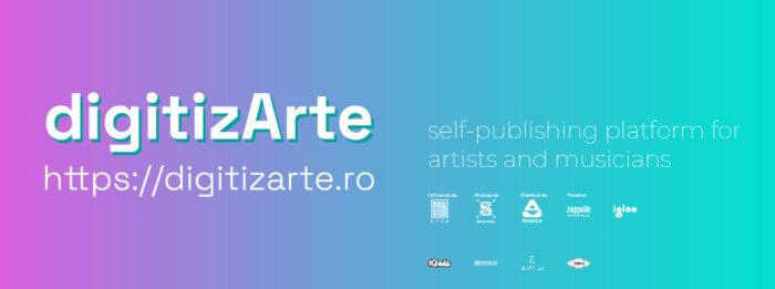 digitizARTE.ro, platforma educațională și de auto-publicare pentru tinerii artiști