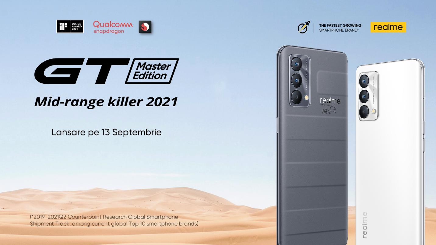 realme GT Master Edition va fi disponibil în România