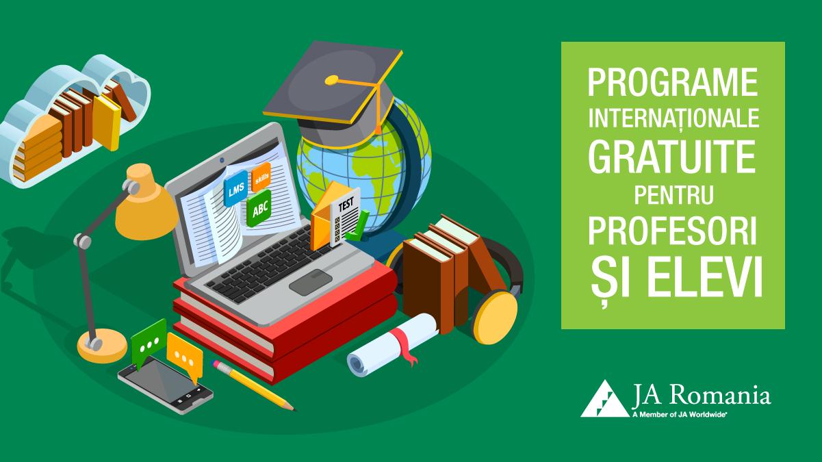 Programe și proiecte educaționale oferite gratuit de Junior Achievement în noul an școlar