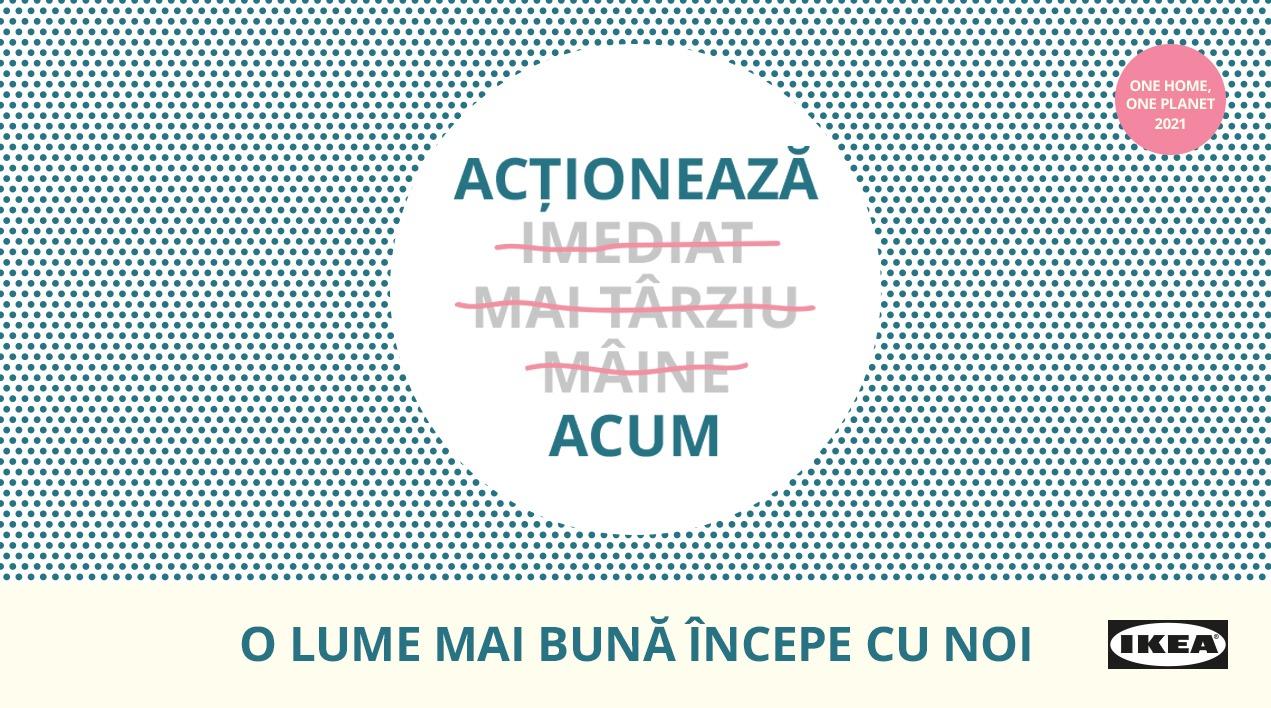 IKEA România a organizat ONE HOME, ONE PLANET 2021, eveniment virtual despre sustenabilitate