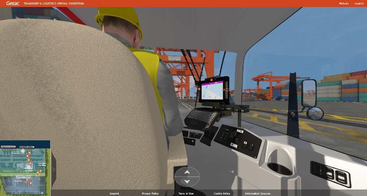Expoziția virtuală Getac dedicată soluțiilor robuste  din domeniul transporturilor și logisticii
