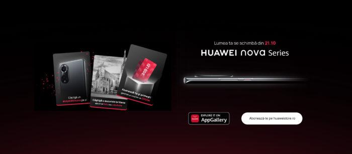 Huawei va prezenta săptămâna viitoare vârful de gamă al seriei Nova