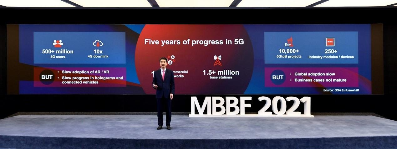 Cel de-al 12-lea Forum Global Mobile Broadband (MBBF) al Huawei