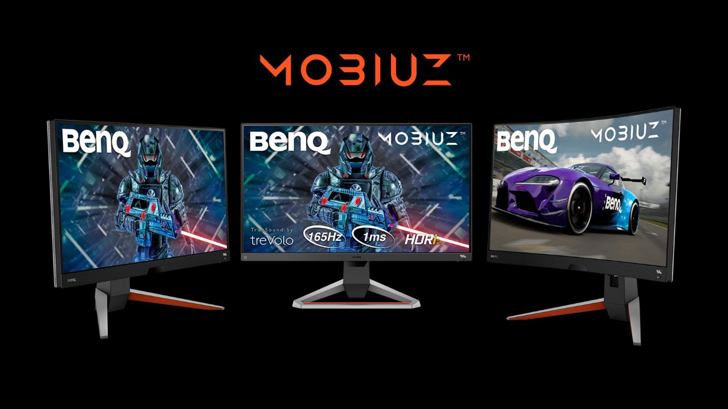 Noile monitoare BenQ MOBIUZ EX2710R, EX2710Q şi EX2710S