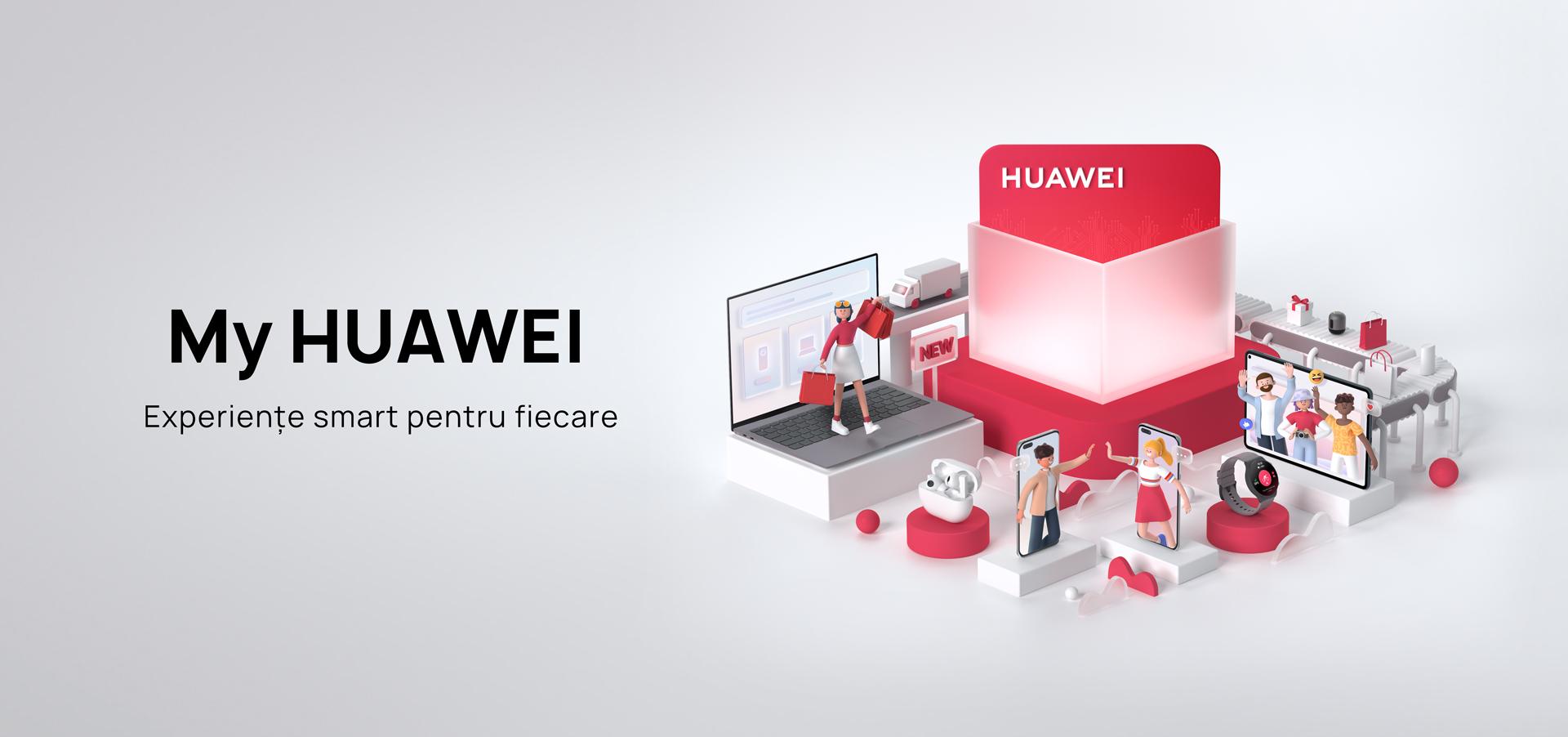 Mai mult de 1,3 milioane de români au făcut upgrade la aplicația My HUAWEI