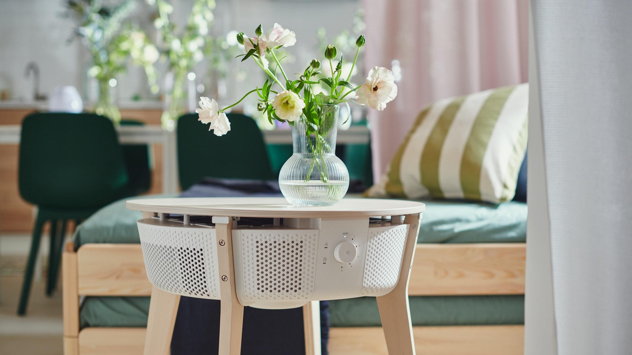 IKEA oferă soluții de purificare a aerului din interior pentru a îmbunătăți calitatea acestuia