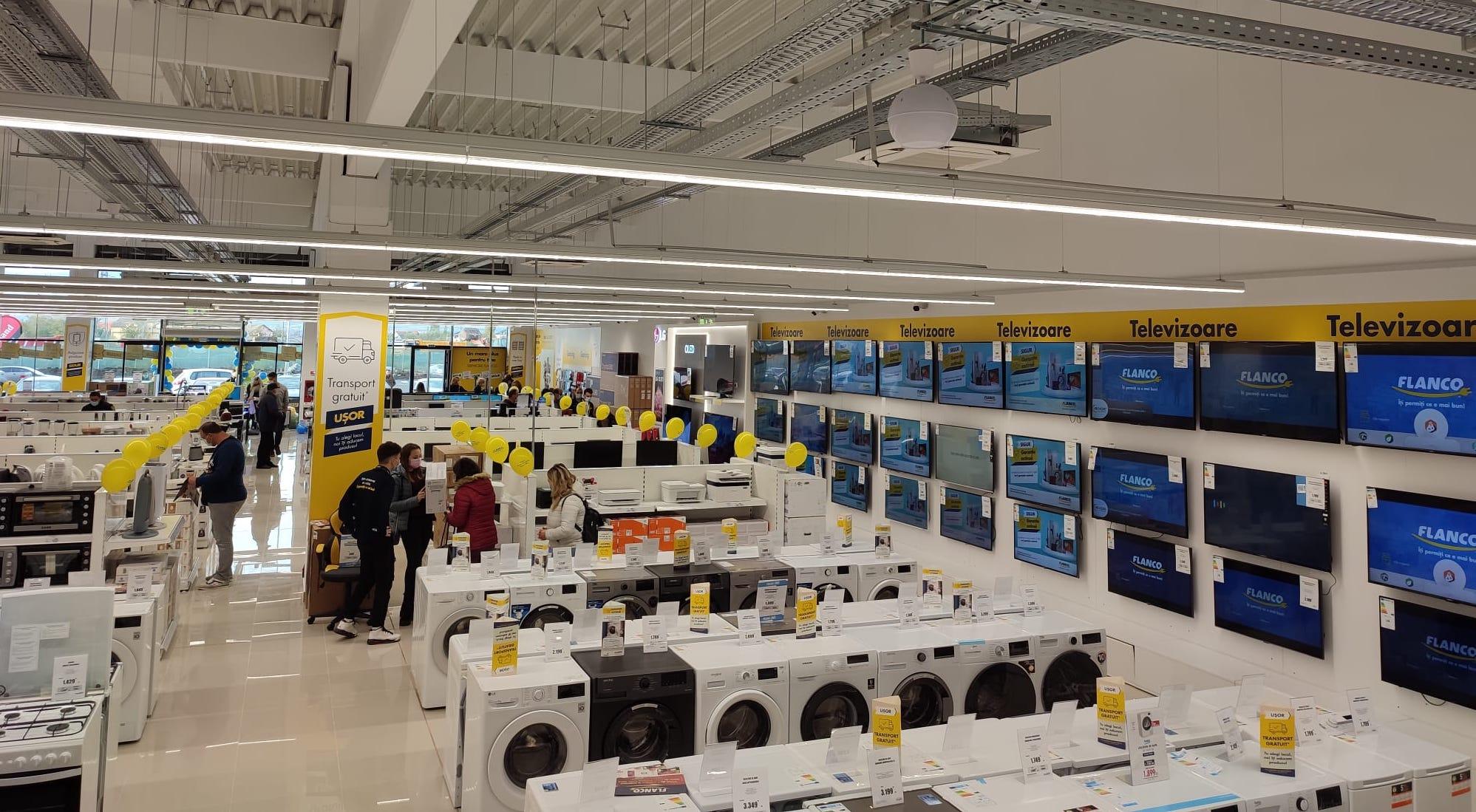 Flanco își continuă strategia de extindere – noi magazine în Sibiu și Roșiorii de Vede