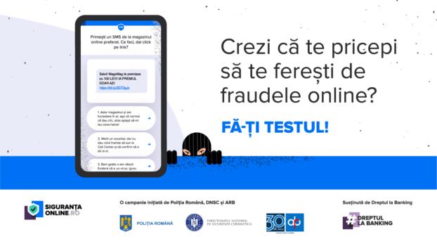 #siguranțaonline, o campanie de informare despre cum să ne protejăm de fraudele online