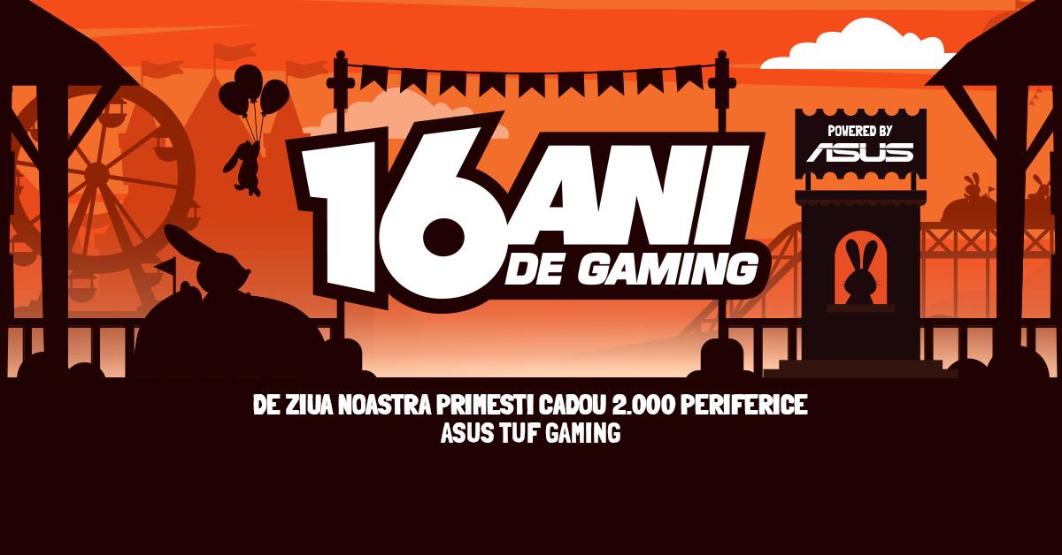 PC Garage sărbătorește 16 ani de gaming